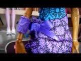 Видео обзор про куклу монстр хай из коллекции денс клас РОББЕКА СТИМ